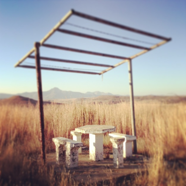 Picnic Spot, near Clarens, Free State.